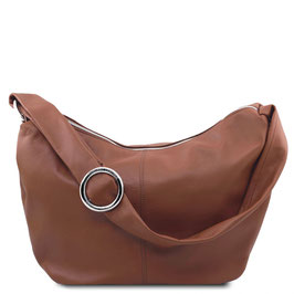 Tuscany Leather Yvette Leather Bag Cinnamon