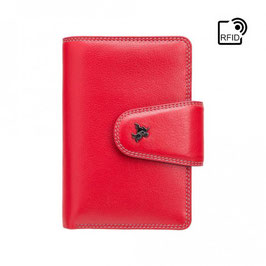 Visconti Poppy Ladies Purse Red