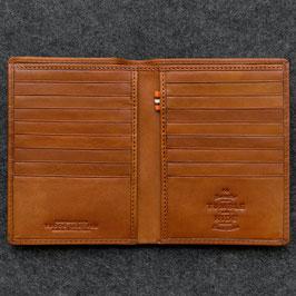 Tumble & Hide Tudor Leather Jacket Wallet Tan