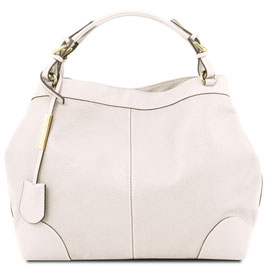 Tuscany Leather Ambrosia Leather Bag White