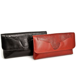 Lee River Ciara Clutch Leather Bag