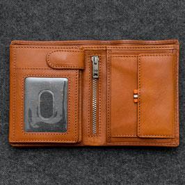 Tumble & Hide Tudor Leather Large Capacity Wallet Tan