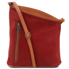 Tuscany Leather Mini Unisex Bag Red