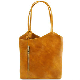 Tuscany Leather Patty Bag Yellow