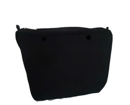 Canvas Inner Bag in Black