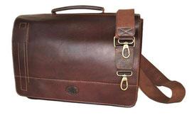 Rowallan Cremoso Full Flap Luxury Briefcase