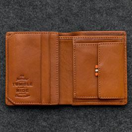 Tumble & Hide Tudor Abridged Leather Wallet Tan