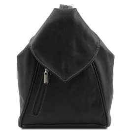 Tuscany Leather Delhi Backpack Black