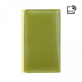 Visconti Bora Ladies Leather Purse Lime