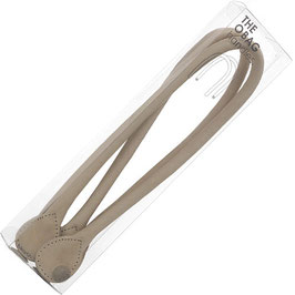 O Bag Handles - Faux Leather - Dove