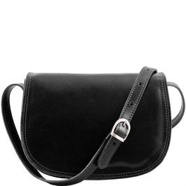 Tuscany Leather Isabella Leather Bag Black