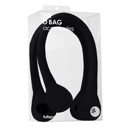O Bag Mini Handles - Faux Leather - Black