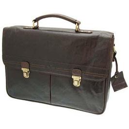 Rowallan Conquest Classic Brown Briefcase