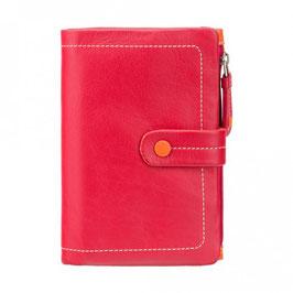 Visconti Malabu Leather Purse Red