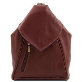 Tuscany Leather Delhi Backpack Brown