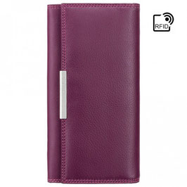 Visconti Paloma Ladies Purse Plum