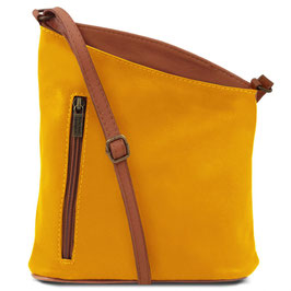 Tuscany Leather Mini Unisex Bag Yellow