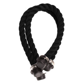O Bag Mini Handles - Rope - Black