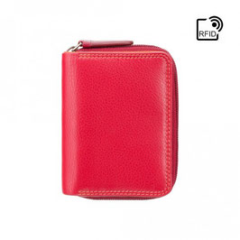 Visconti Hawaii Leather Purse Red