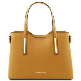 Tuscany Leather Olimpia Leather Handbag Mustard