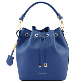 Tuscany Leather Vittoria Leather Bag Blue