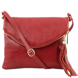 Tuscany Leather Young Soft Leather Bag Red