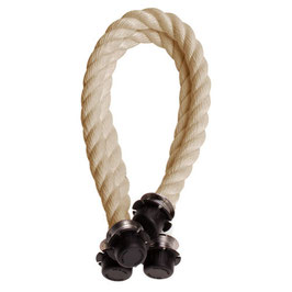 O Bag Mini Handles - Rope - Natural