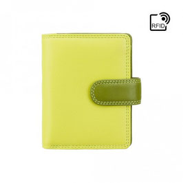 Visconti Bali Leather Purse Lime