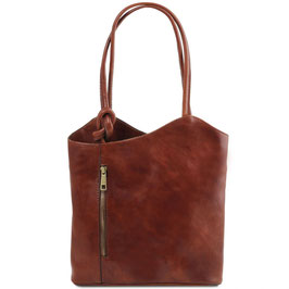 Tuscany Leather Patty Bag Brown