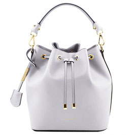 Tuscany Leather Vittoria Leather Bag White
