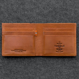 Tumble & Hide Chukka Leather East West Wallet Tan