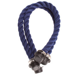 O Bag Mini Handles - Rope - Dark Blue