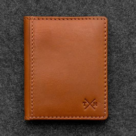 Tumble & Hide Tudor Leather Basal Card Holder Tan