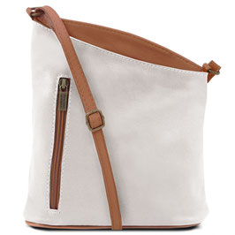 Tuscany Leather Mini Unisex Bag White