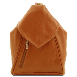 Tuscany Leather Delhi Backpack Cognac