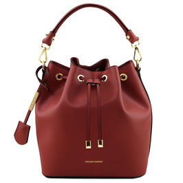 Tuscany Leather Vittoria Leather Bag Red
