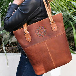 Lee River Large Leather Tote