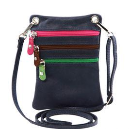 Tuscany Leather Mini Cross Bag Navy