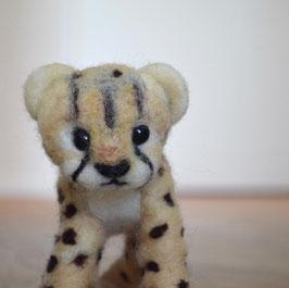 Gepard aus Filz