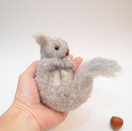 Eichhörnchen aus Filz