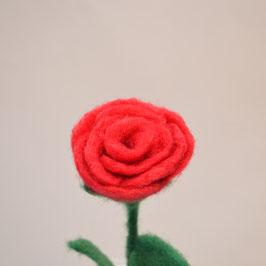 nadelgefilzte Rose