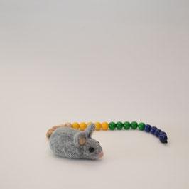 Rechenkette Maus aus Filz
