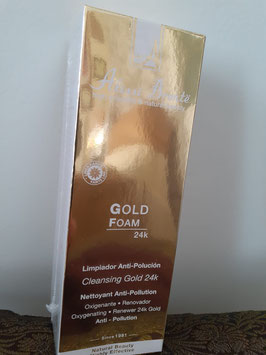 Gold Foam 24K 100 ml. Limpiador anti-polución