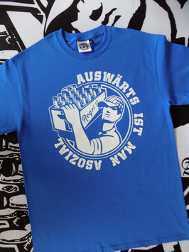 "Regel 17 T-Shirt Blau ""OLD SCHOOL"""