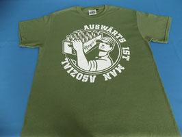 "Regel 17 T-Shirt Military Green ""OLD SCHOOL"""