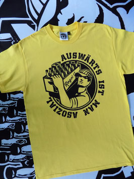 "Regel 17 T-Shirt Gelb ""OLD SCHOOL"""