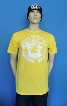 "Regel 17 T-Shirt Gelb/Weiss  ""OLD SCHOOL"""
