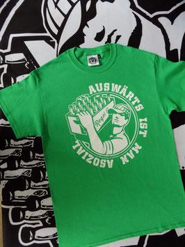 "Regel 17 T-Shirt Grün ""OLD SCHOOL"""