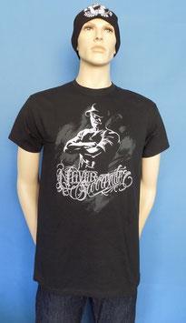 """Never Surrender"" T-Shirt Schwarz"