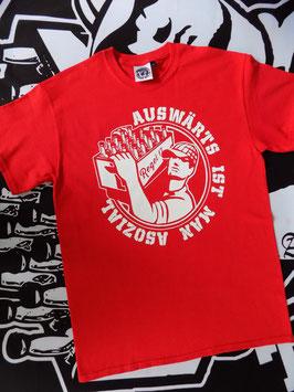 """Regel 17 T-Shirt Rot """"OLD SCHOOL"""""""